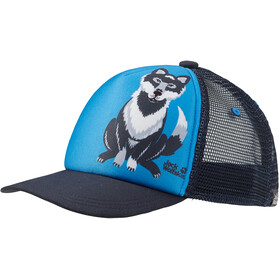 Jack Wolfskin Animal Mesh Cap Kinderen, sky blue